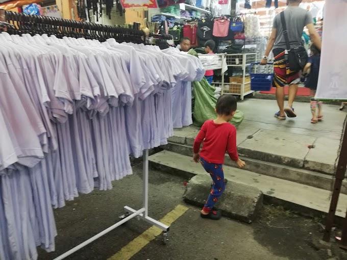 Persiapan Beli Baju Sekolah TABIKA KEMAS Anak-anak