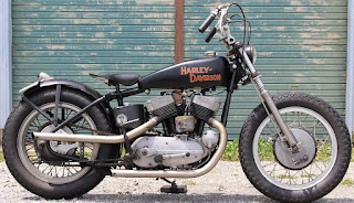 harley davidson khk 1955 restored by manxman garage