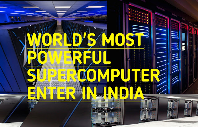 world's most powerful supercomputer now is in india