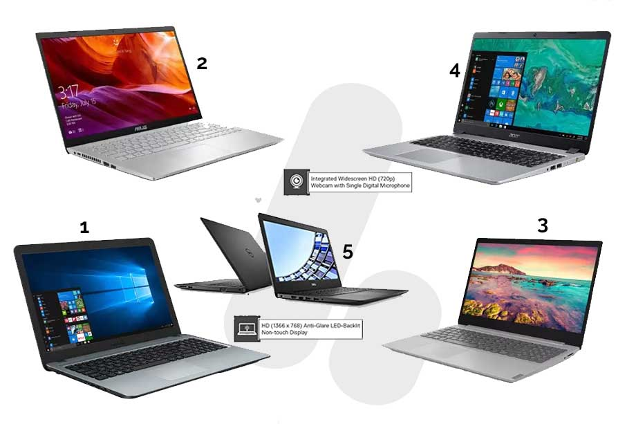 Top 5 BEST Laptops in 30,000 to 35,000 Budget, for offices, common service centers-csc, for students and teachers