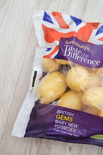 bag of baby gem new potatoes