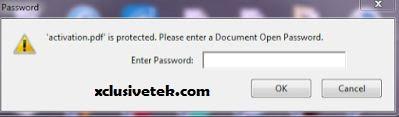 lock pdf file