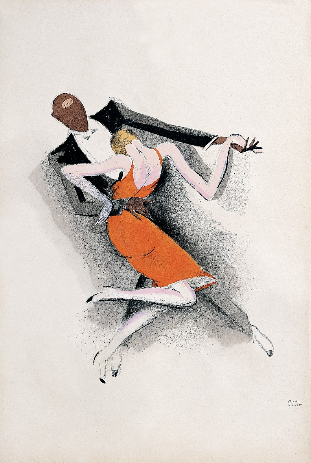 ©Paul Colin - Le Tumulte Noir, 1927. Ilustración | Illustration