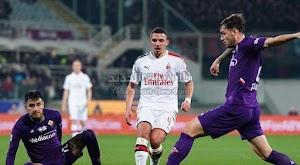فيورنتينا يفرض التعادل الاجابي على ميلان في الجولة 25 من الدوري الايطالي
