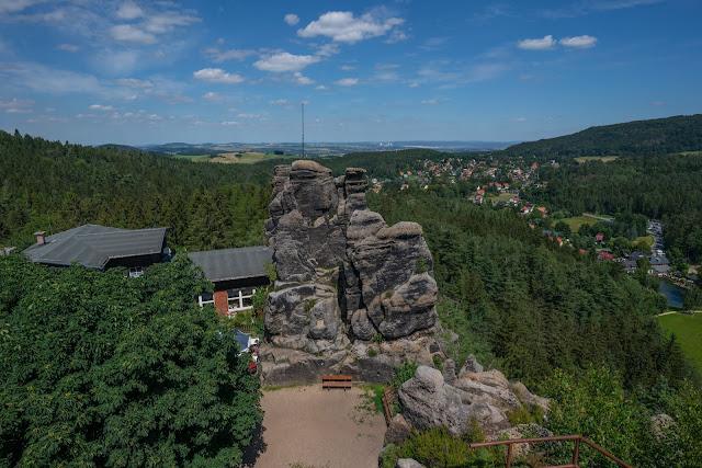 Oberlausitzer Bergweg | Etappe von Waltersdorf nach Oybin | Wandern im Zittauer Gebirge | Sachsen 08