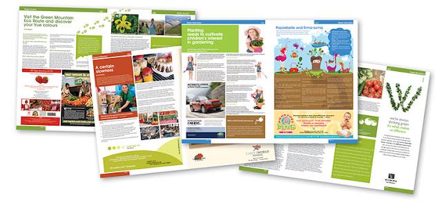 مشروع التصميم الحاسوبي لمجلة المتوسطة للسنة الثالثة متوسط