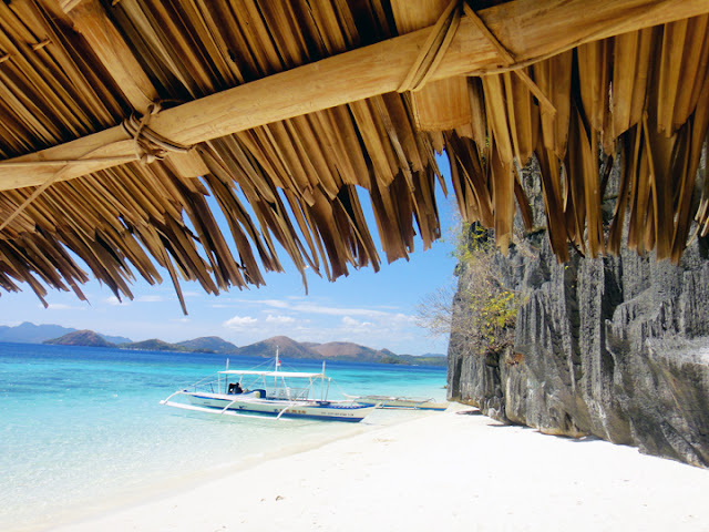 bowdywanders.com Singapore Travel Blog Philippines Photo :: Philippines :: Malcapuya Island of Coron, Philippines