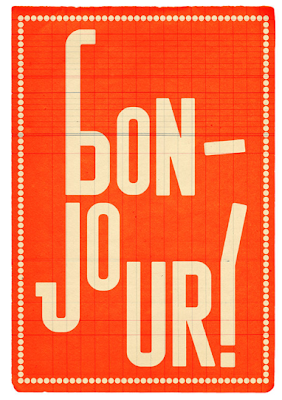 Bon-Jour Print from Edu Barba Collages & Prints