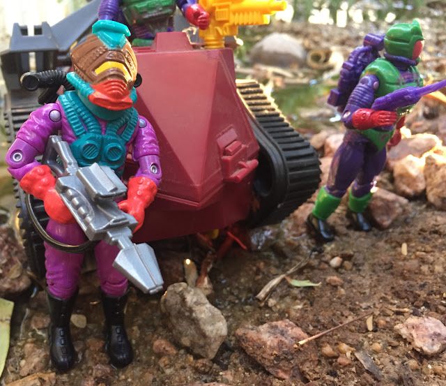 1988 Toxo Viper, Imp, 1991 Eco Warriors