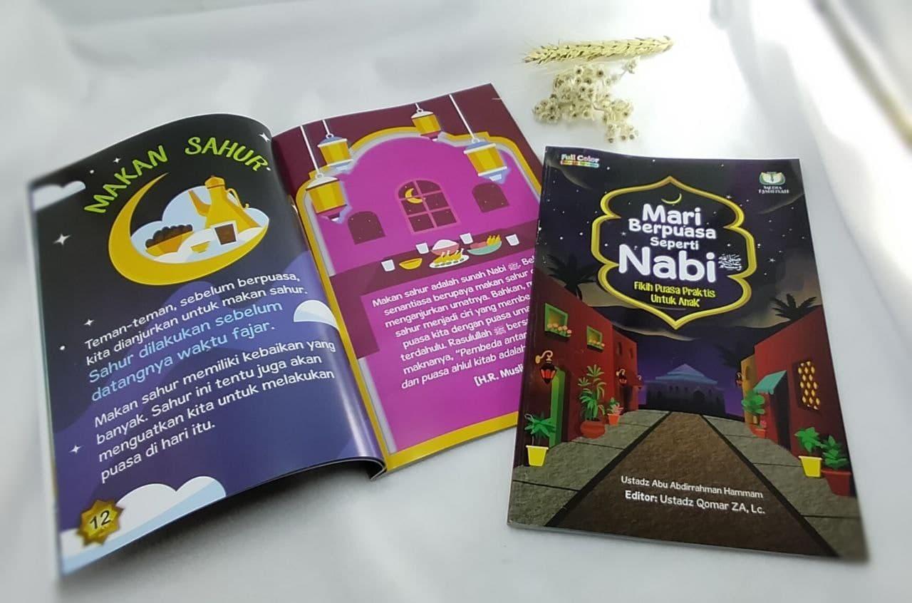 Buku Mari Berpuasa Seperti Nabi Media Tashfiyah