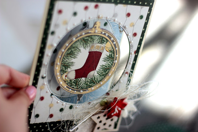 Rotating Ornament Christmas Card by Elena Olinevich using Tis The Season Collection