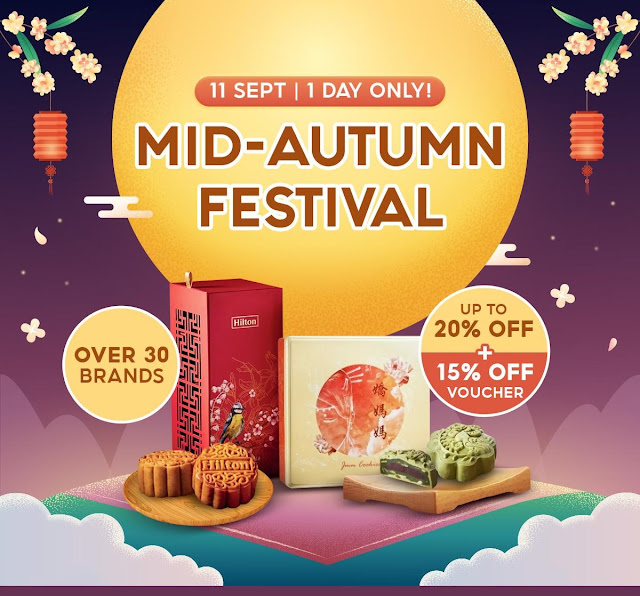 Shopee Mid Autumn Festival Mooncake Promotion Penang Blogger Influencer