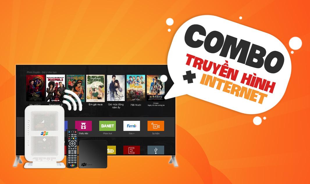 Trọn gói Internet Wifi + Truyền hình FPT Bến Tre