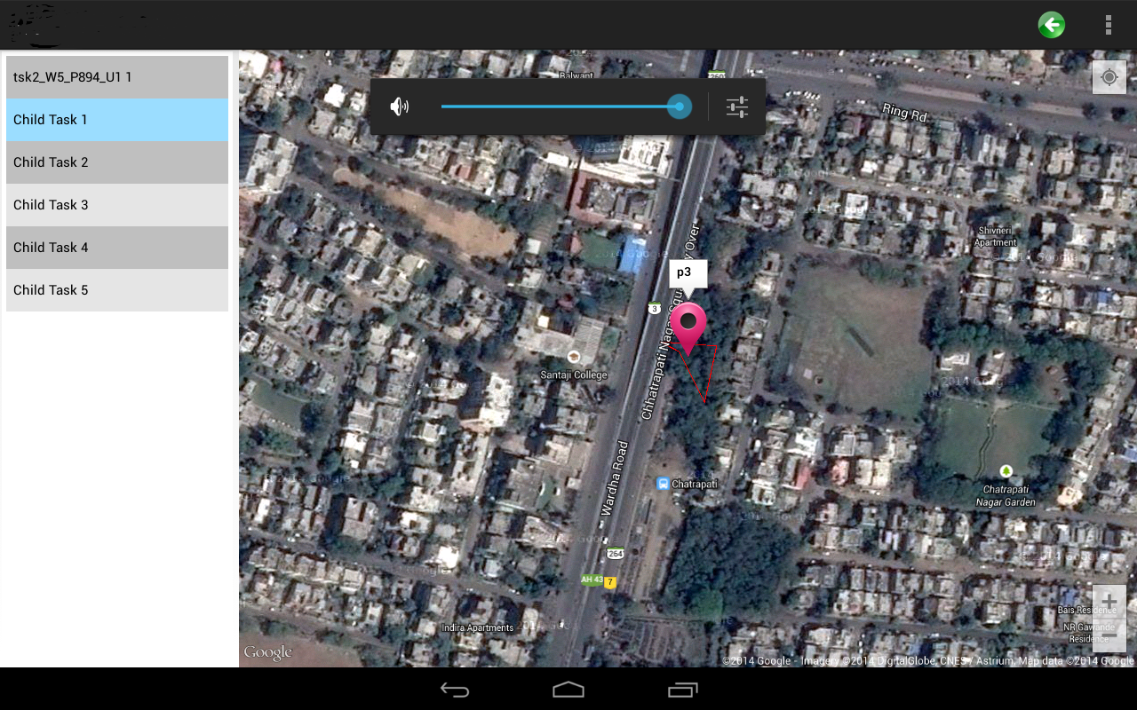 Android calculate the center of Polygon in GoogleMap | Show centroid