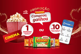 Promoção Sazon Comprou Ganhou