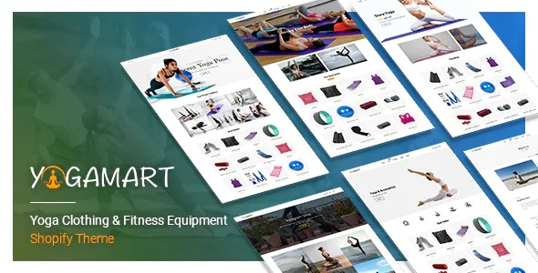 Best Yoga Clothing & Fitness Equipment Shopify Theme