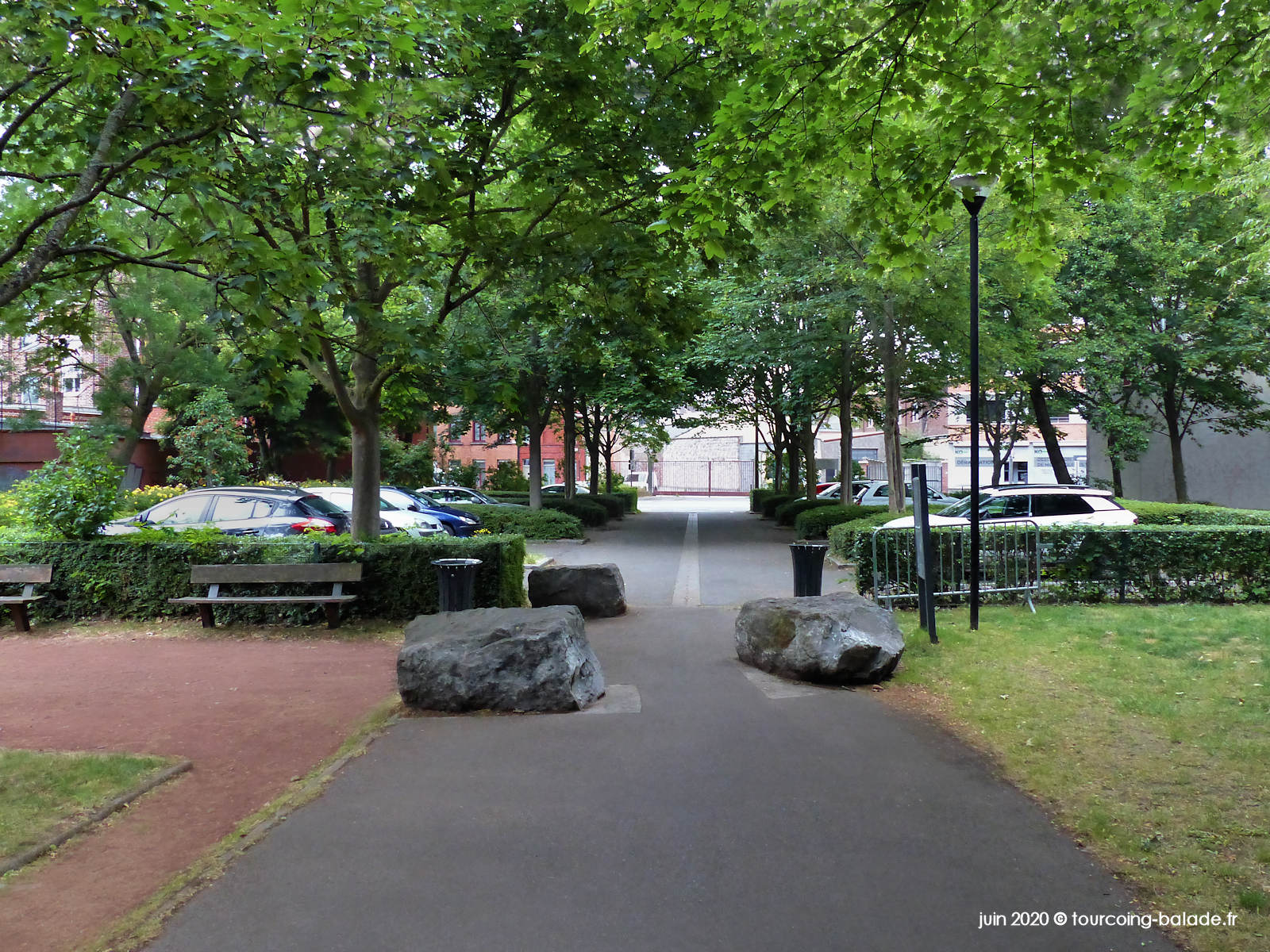 Parking public, Tourcoing 2020