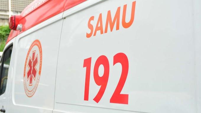 Homem é preso após roubar aparelhos e medicamentos de ambulância do Samu