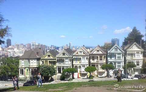 Painted Ladies on Alamo Square, San Francisco