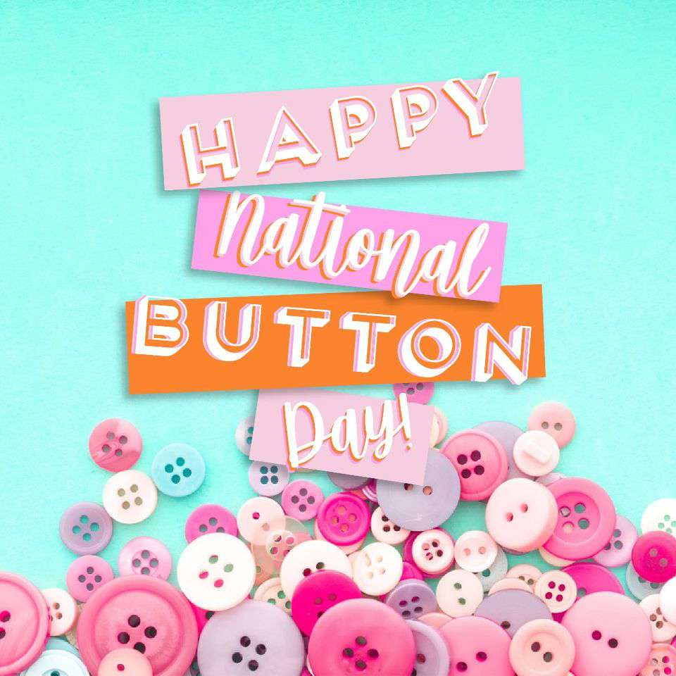 National Button Day Wishes Images