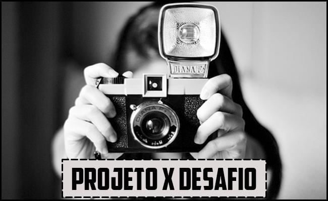 O que é o projeto fotográfico? O que é o desafio fotográfico?