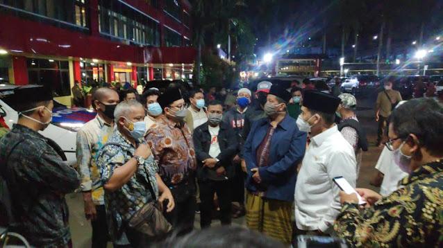 Bantu Urus Jenazah 6 Laskar FPI, Munarman Terima Kasih ke Fadli Zon dan Komnas HAM