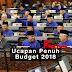 Ucapan Penuh Budget 2018