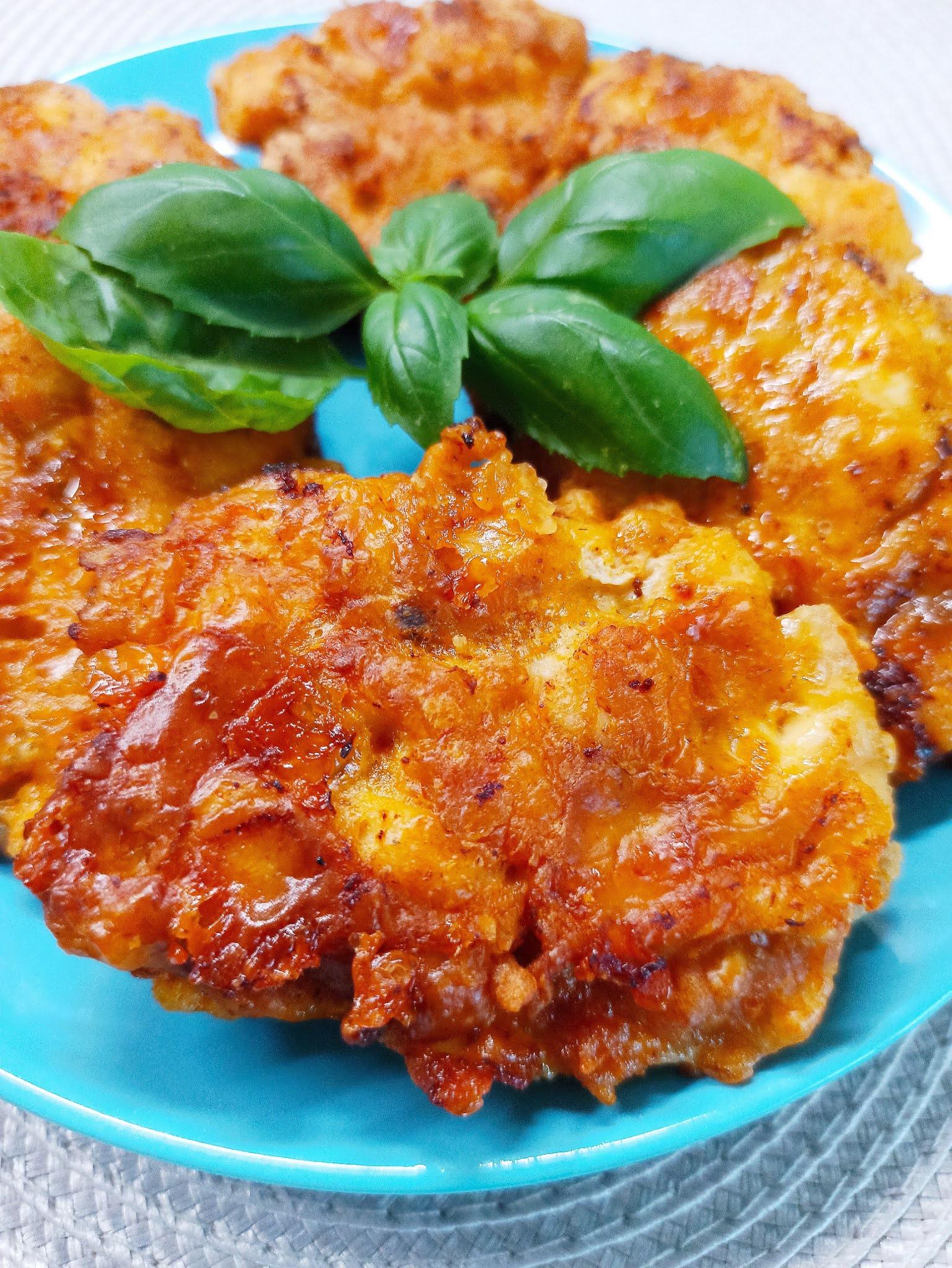 Kotlety siekane z mozzarellą