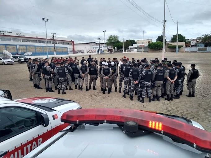 Duas prisões durante Operação Conjunta das Polícias Civil e Militar em Lagoa e Jericó