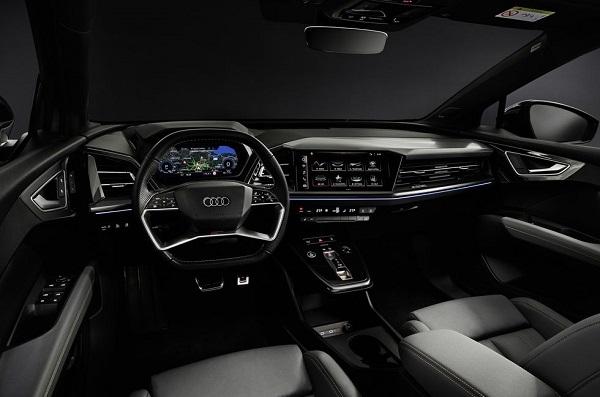 Interior Audi Q4 e-tron