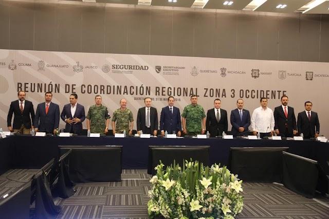 APOYAN GOBERNADORES DE LA ZONA OCCIDENTE LA CONSOLIDACIÓN DEL MODELO NACIONAL DE POLICÍA