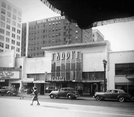 Angeles los adult theater