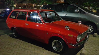 LAPAK RETRO JEPANG : Toyota Corolla KE10 1968 Wagon (Corolla 1st Generation) - TANGSEL