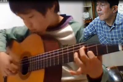 Skypeギターレッスン風景 No.2