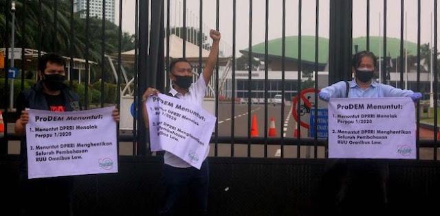 ProDEM: Setiap Demo Rusuh Dibilang Bayaran, Kan Sudah Diingatkan Kebijakannya Akan Picu Kerusuhan