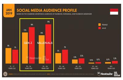 segmentasi pengguna media sosial