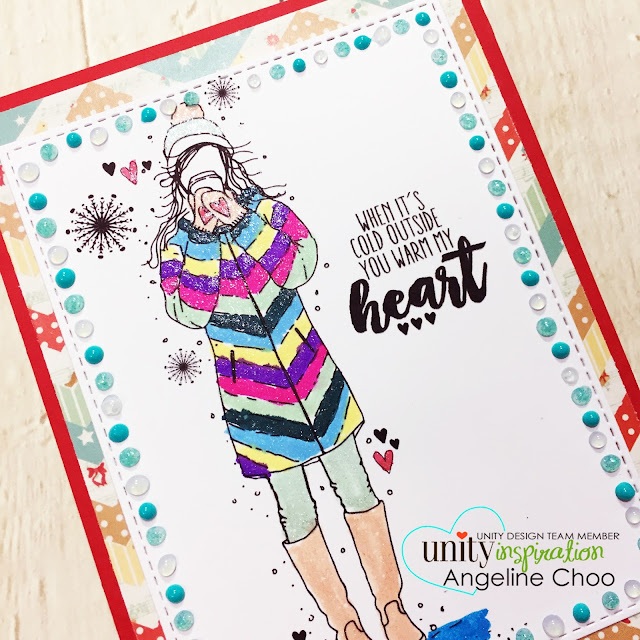 ScrappyScrappy: [NEW VIDEO] Feather & Angie Girl Release with Unity Stamp #scrappyscrappy #unitystampco #copic #katscrappiness #katscrappinessdie #diecut #snowflake #winter #christmas #christmascard #spectrumnoir #sparklepens #spectrumnoirsparklepens #glitter #tonicstudios #nuvodrop #nuvojeweldrop #nuvoglitterdrop #youtube #quicktipvideo #processvideo #stamp #stamping #craft #crafting #card #cardmaking