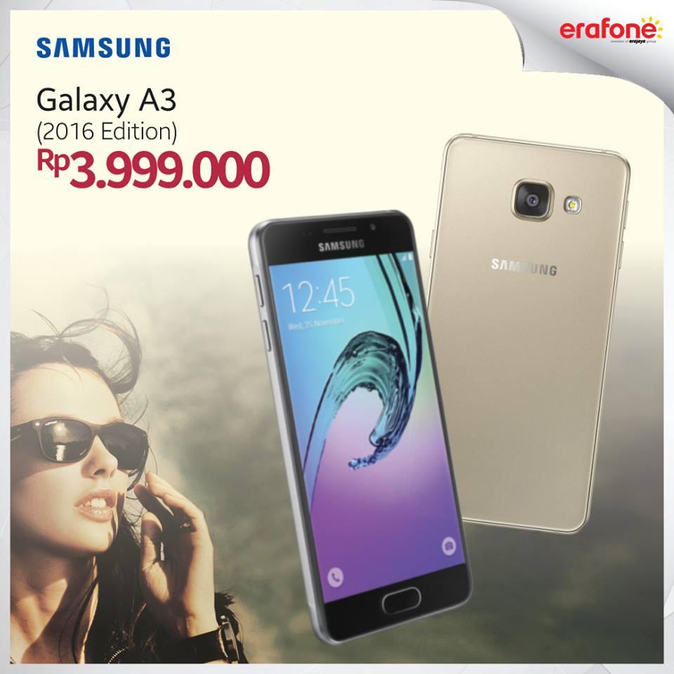 Harga Samsung Galaxy A3 2016 Edition
