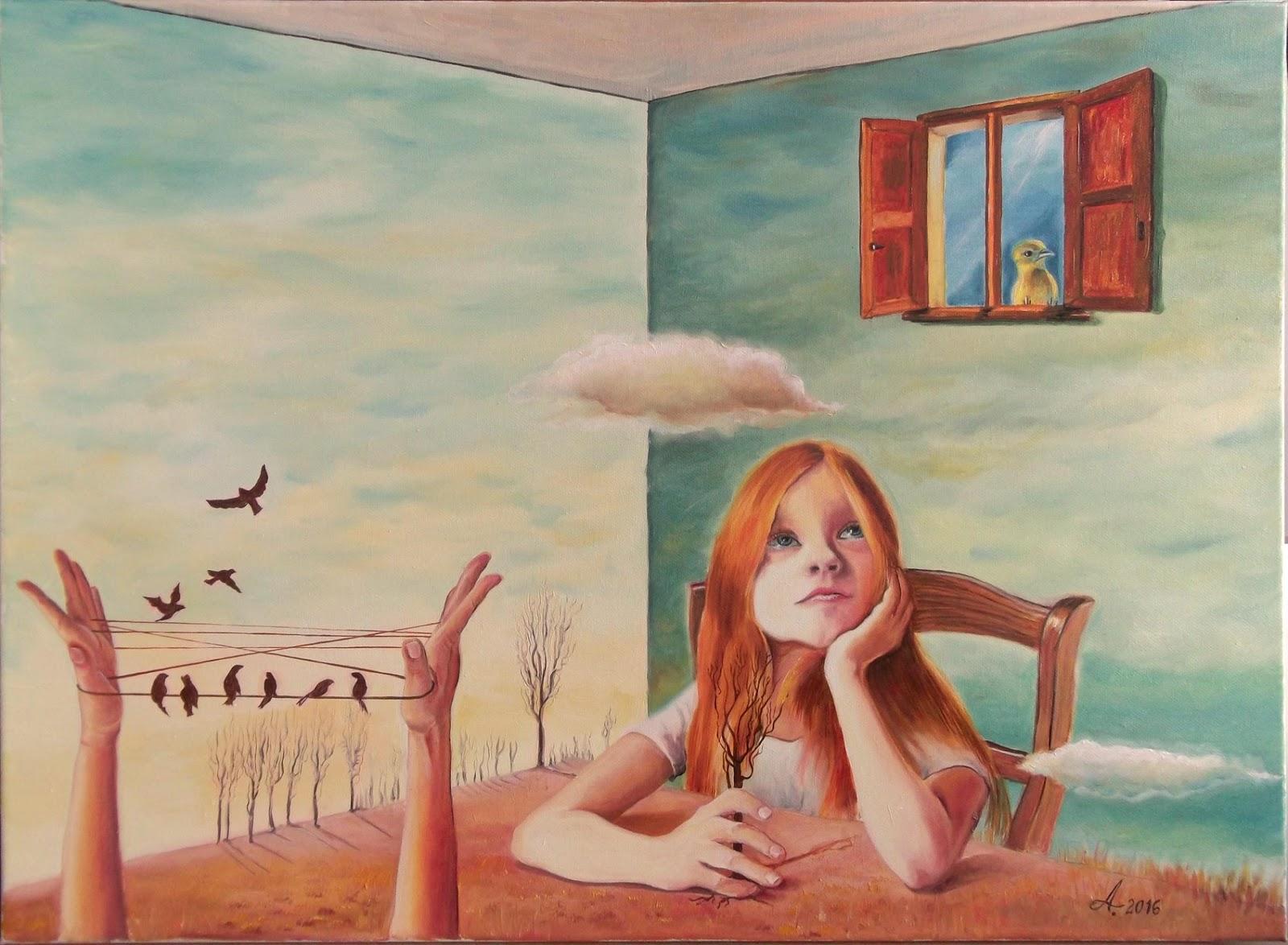 Paintings by Romanian Artist - Adina Lupan  (Adina Lohmuller)