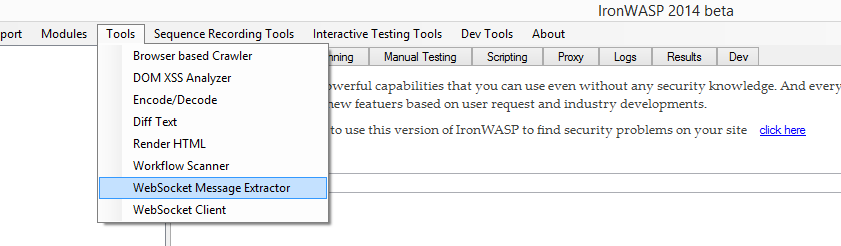 IronWASP - Open Source Advanced Web Security Testing Platform