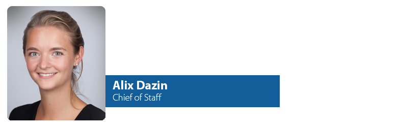 Alix Dazin, Chief of Staff