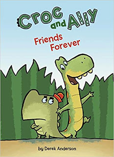 Crock and Ally Friends Forever Cover, depicting Croc and Ally against a grass backdrop