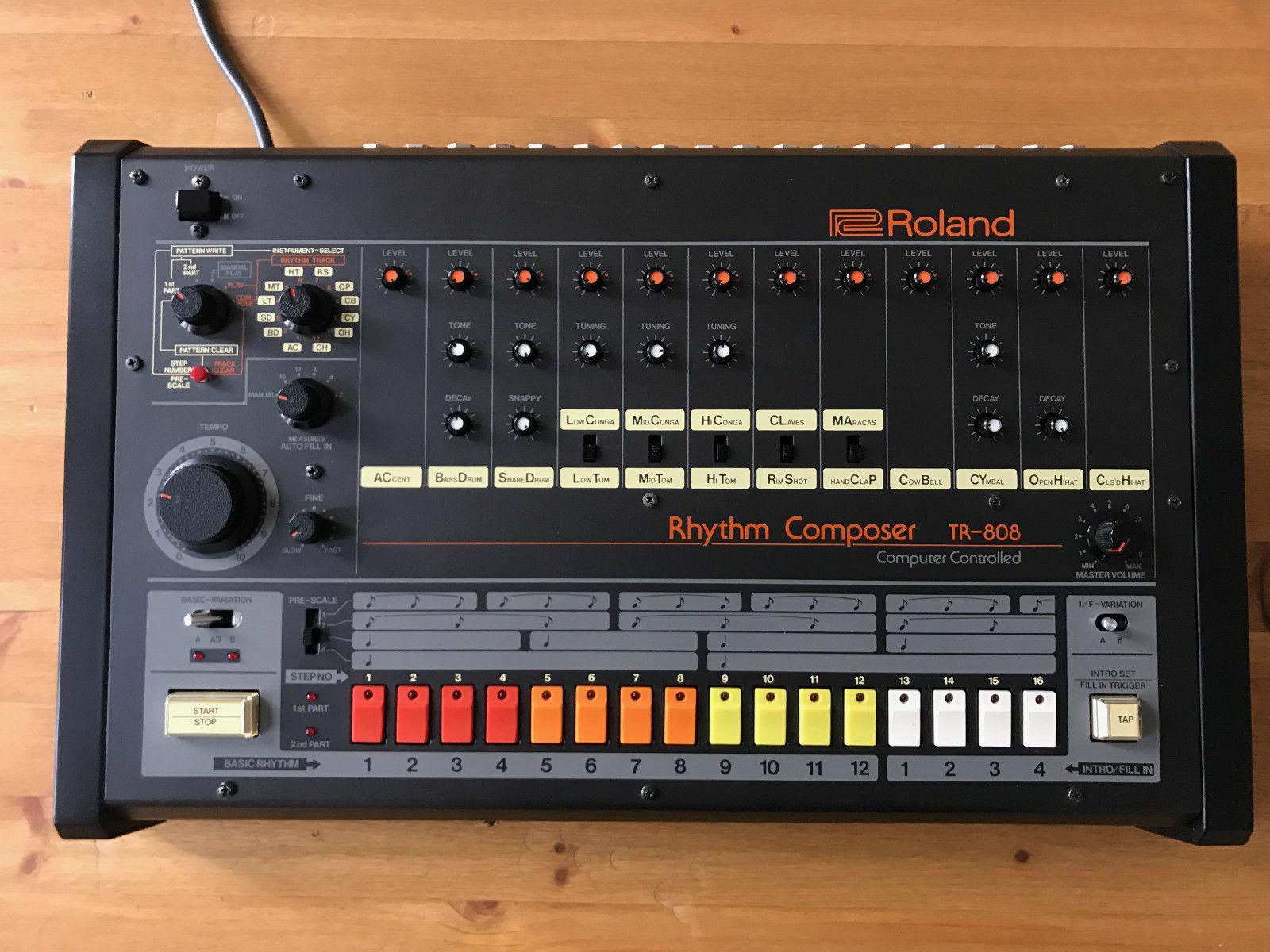 matrixsynth minty roland tr 808 rhythm composer drum machine. Black Bedroom Furniture Sets. Home Design Ideas