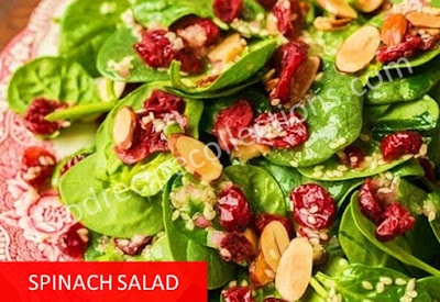 Recipe for Spinach Salad Dressing