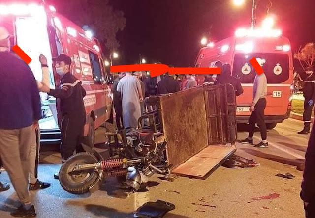 طنجة.. إصابات خطيرة في حادثة سير بطريق أشقار
