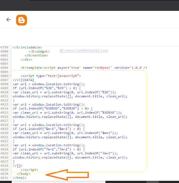 How do we remove /? M=1 from Blogspot blog? The best answer.