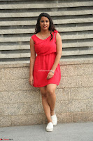 Shravya Reddy in Short Tight Red Dress Spicy Pics ~  Exclusive Pics 118.JPG