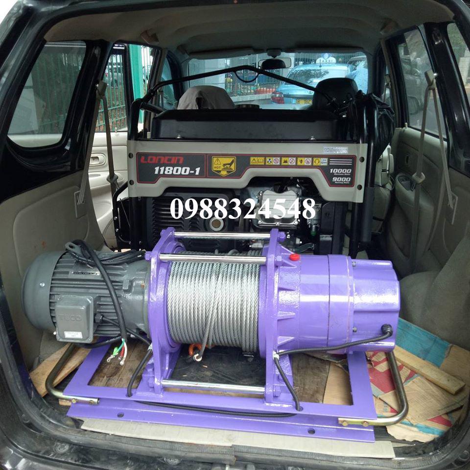 Tời cáp điện comeup CWG-30375 900kg