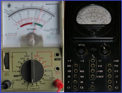 How to use of Analog multimeters