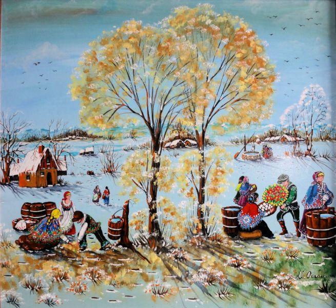 Mis pinturas preferidas maria annunziata orsini for Sfondi naif